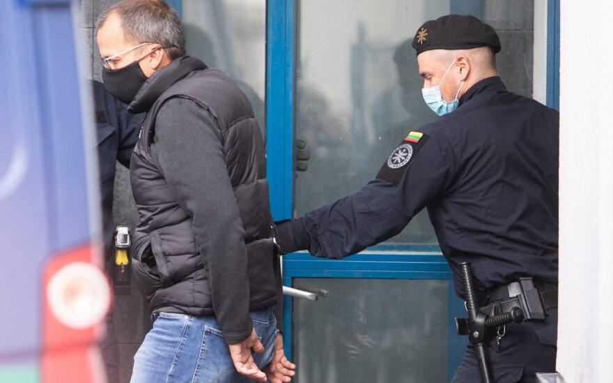 Teismas leido dešimčiai dienų suimti advokatą Šarūną Mickevičių