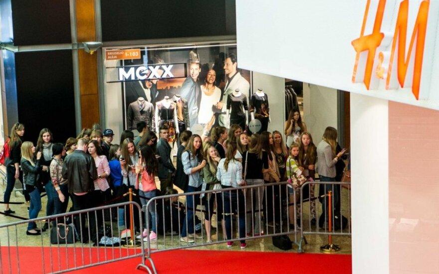 """""""H&M"""" pirmojo ketvirčio pelnas stipriai išaugo"""