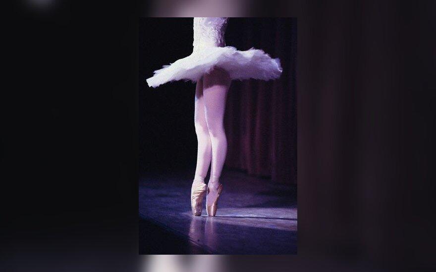 baletas, elegancija, šokti