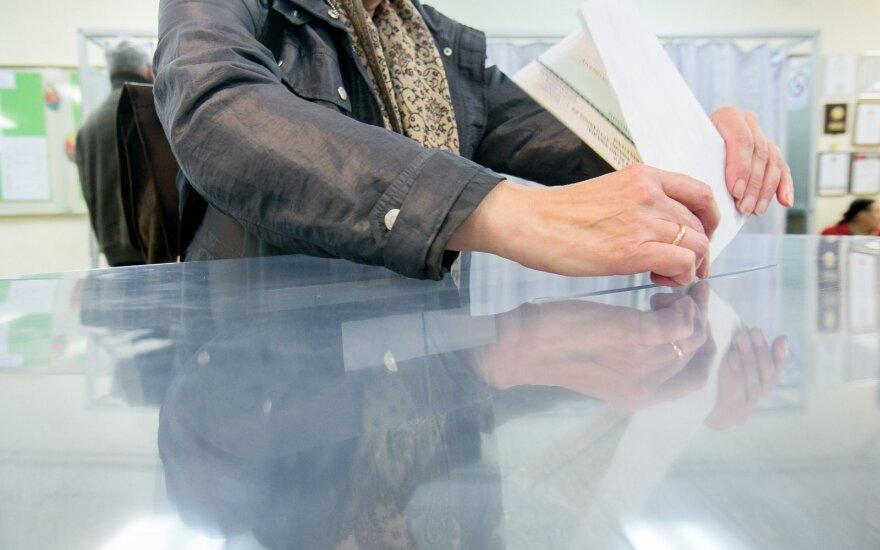 Marijampolės mero rinkimuose kol kas dalyvavo 6,88 proc. rinkėjų