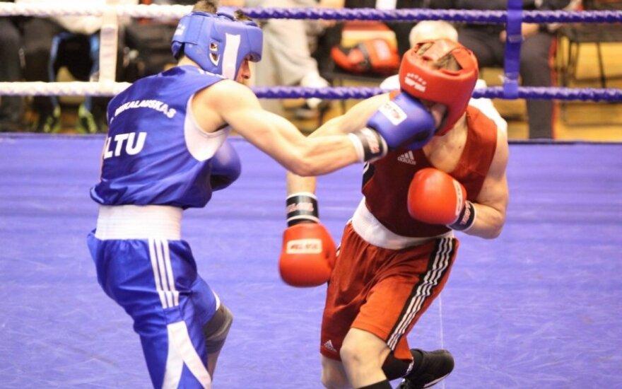 Dano Pozniako bokso turnyro pusfinaliai