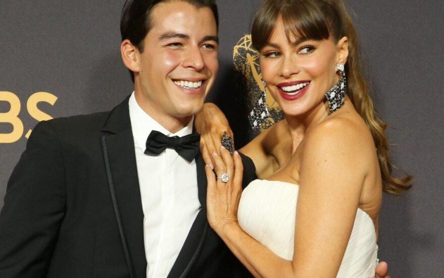 Sofia Vergara su sūnumi Manolo Gonzalez Vergara