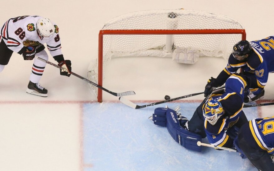NHL Stenlio taurės savininkai išgyveno ir pratęsė seriją