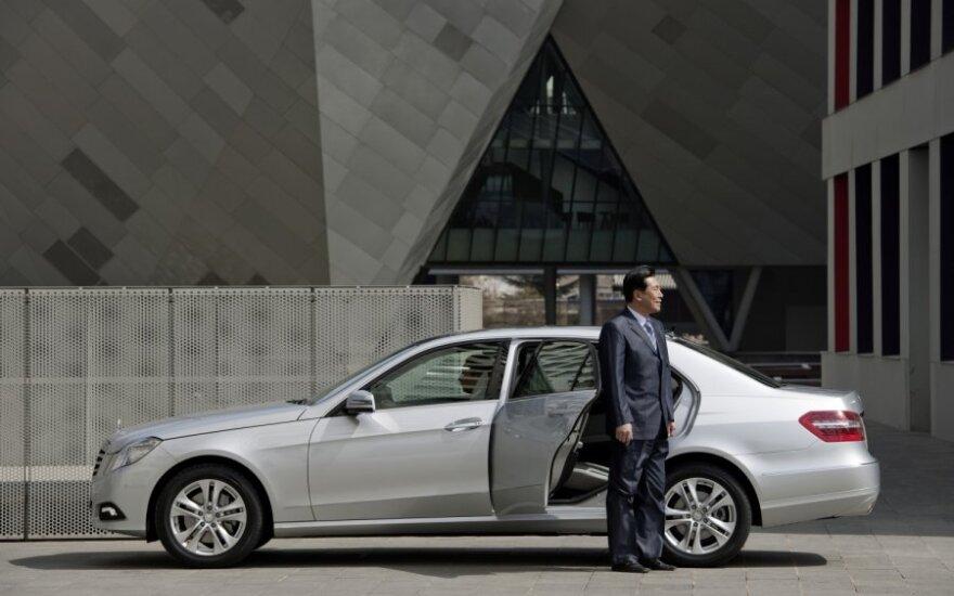 Kinijos rinkai skirtas Mercedes-Benz E 300 L