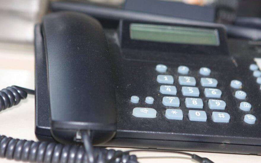 Telefoniniai sukčiai Telšiuose liko nieko nepešę