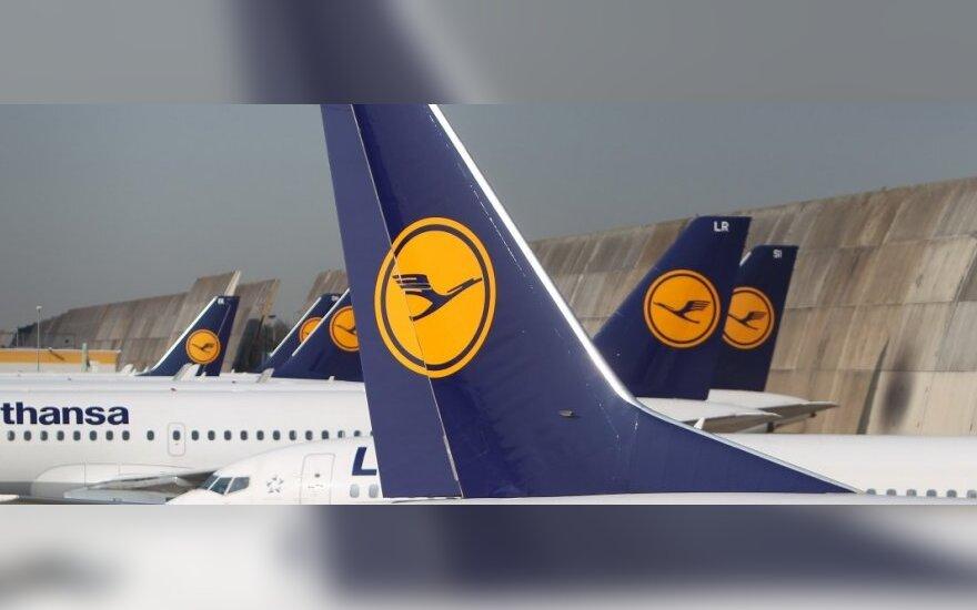 """""""Lufthansa"""" mažina išlaidas"""