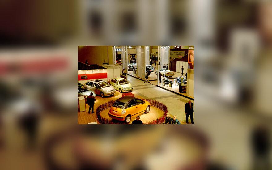 Automobilių paroda ''ALT 2003''