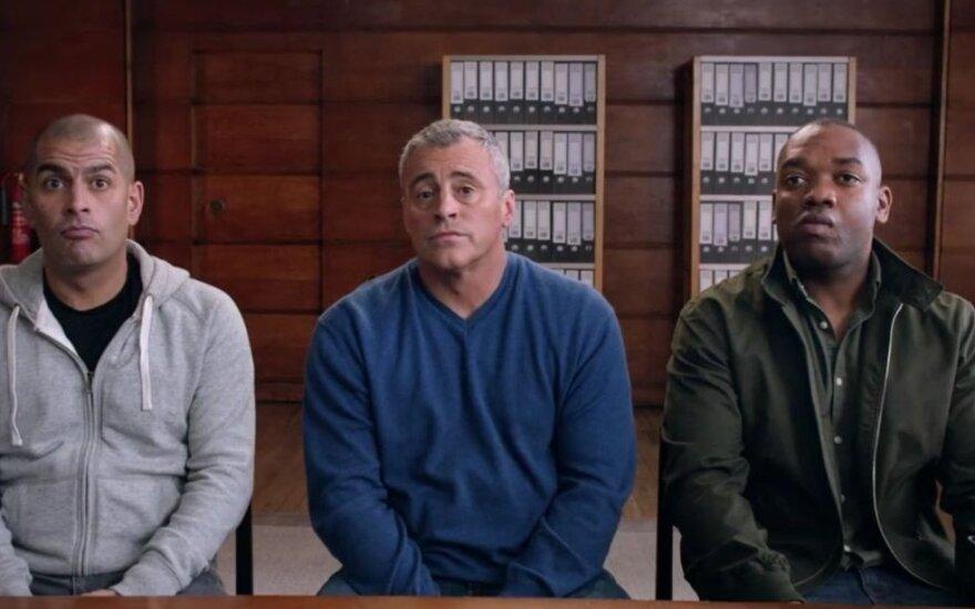 Naujame sezone laidą ves Chrisas Harrisas, Mattas LeBlancas ir Rory Reidas