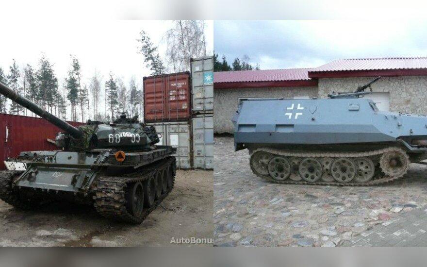 Tanką pardavinėjęs vyras turi ne vieną egzotišką transporto priemonę