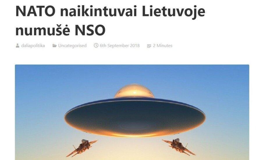 Skelbia apie NATO numuštą NSO Lietuvoje: būtų juokinga, jei ne viena detalė