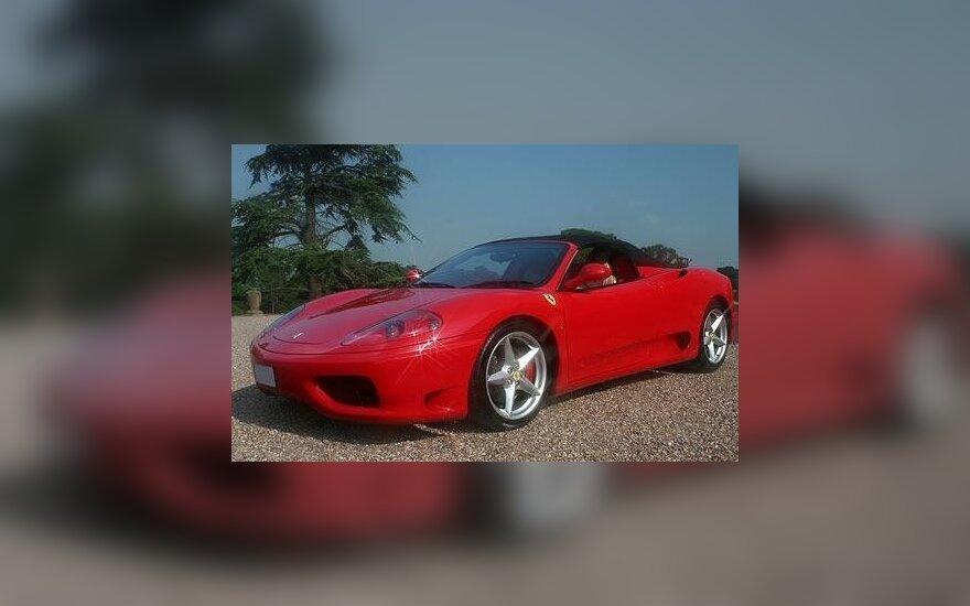 Ferrari 360 Spider. ALAMY nuotr.
