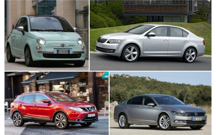 Populiariausi 2014 m. automobiliai Lietuvoje