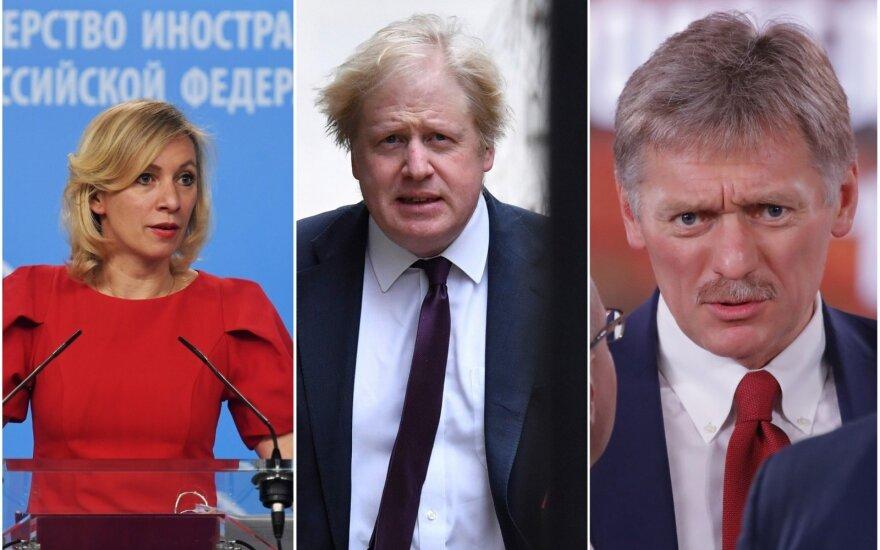 Kremlius siunta dėl britų žodžių apie Putiną