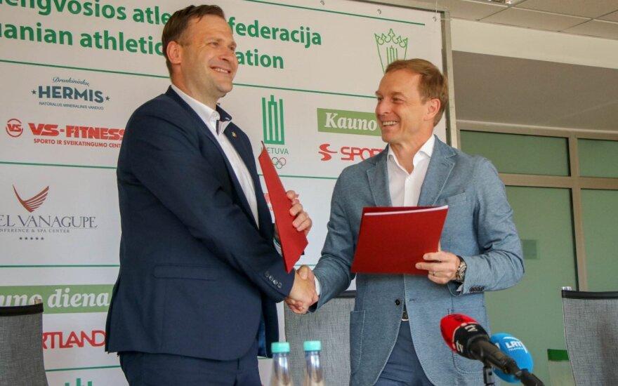 Mindaugas Bilius, Eimantas Skrabulis / Foto: Paralympics.lt