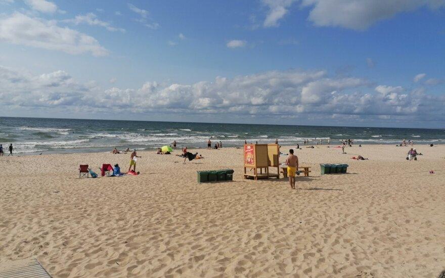 Šiukšlės pliaže