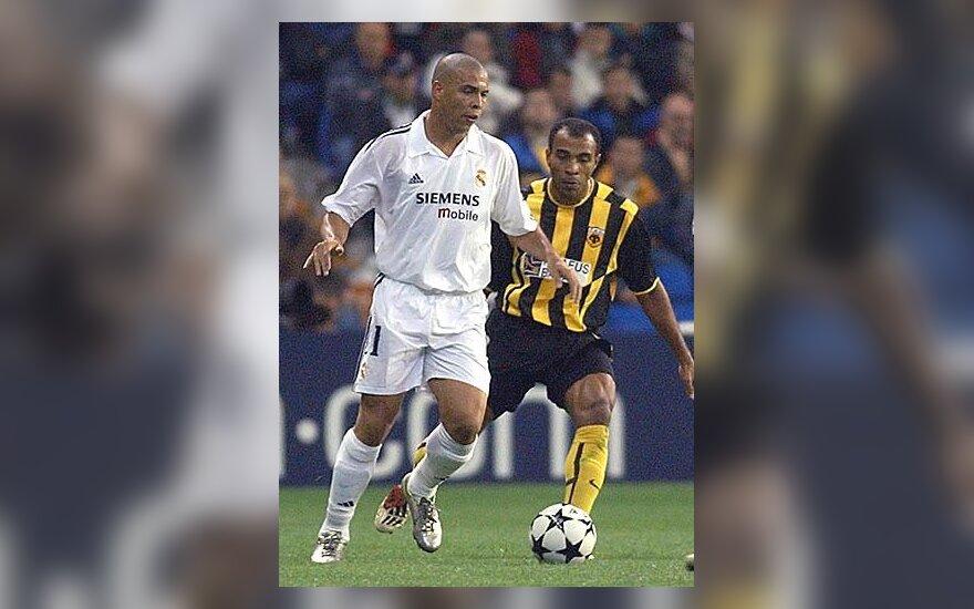 """Ronaldo, Madrido """"Real"""""""