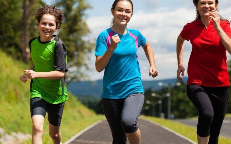 Įdomūs faktai apie bėgimą