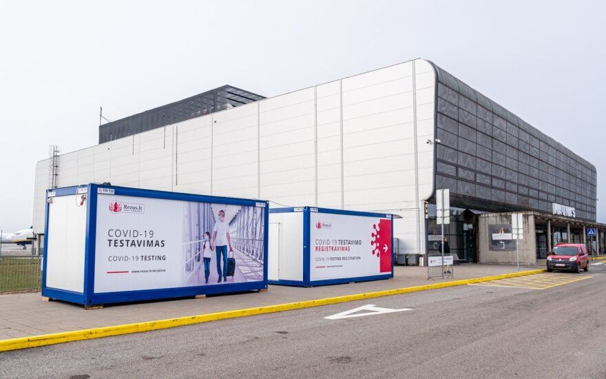 COVID-19 testavimo paslaugos šalia Kauno oro uosto