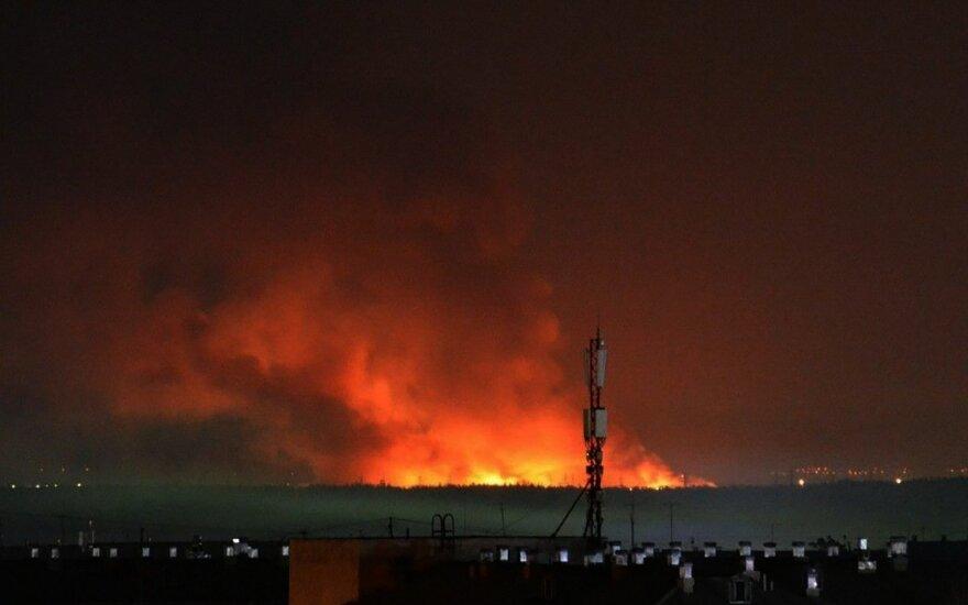 Rusijos pataisos koloniją apėmė riaušės, įsiplieskė gaisras
