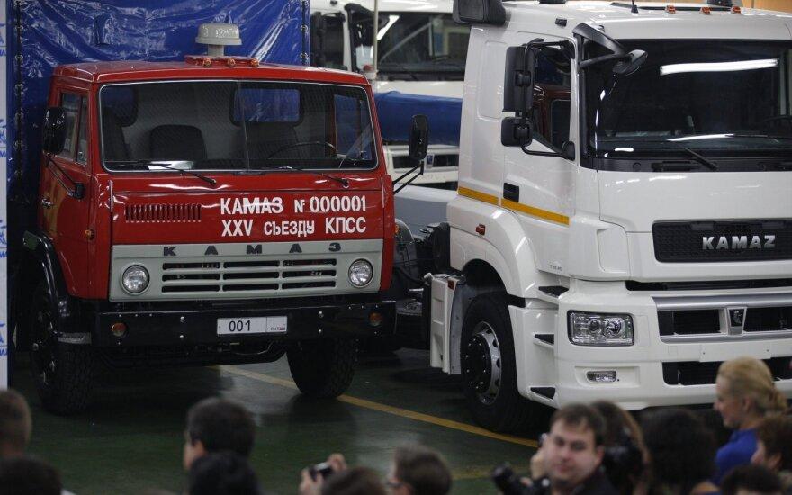 """""""Kamaz"""" sunkvežimiai"""