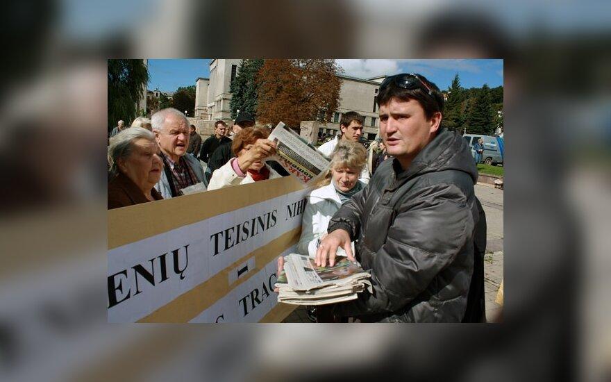 Kunigas J.Varkala: jei neisite Drąsiaus keliu – nueisite po velnių!