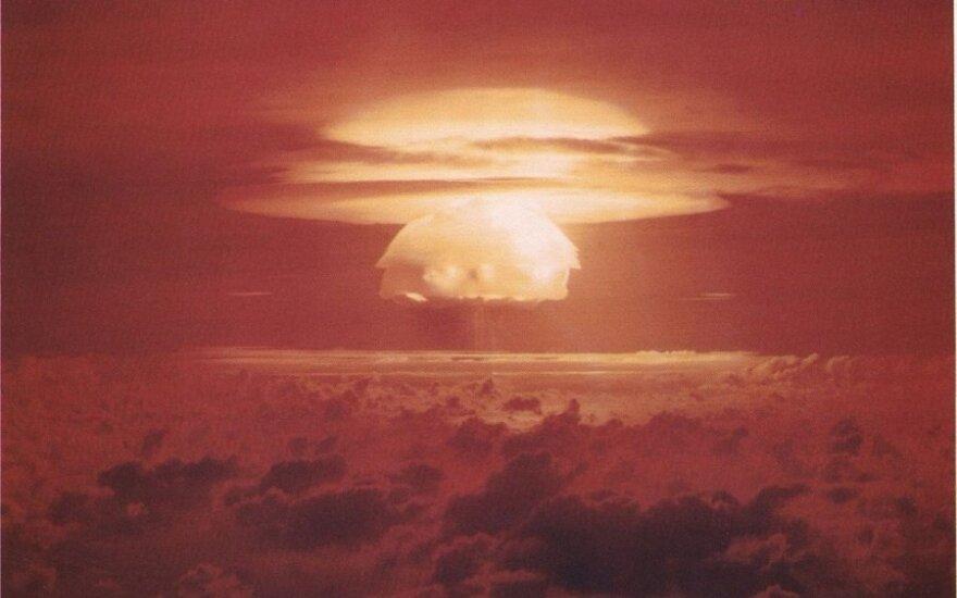 Branduolinė grėsmė: V. Putinui yra ko bijoti ir be D. Trumpo