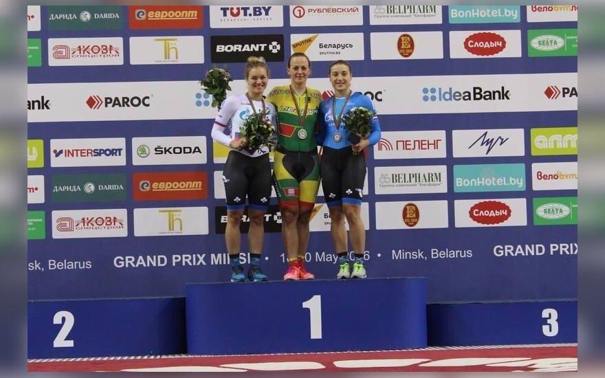 "Simona Krupeckaitė (dviračių sporto klubo ""Minsk"" nuotr.)"