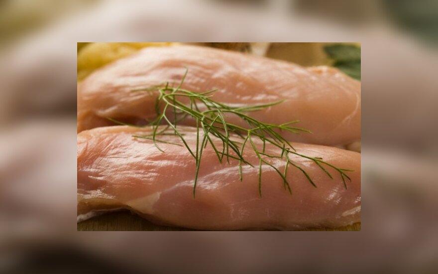 Lenkiškoje paukštienoje rado salmonelių