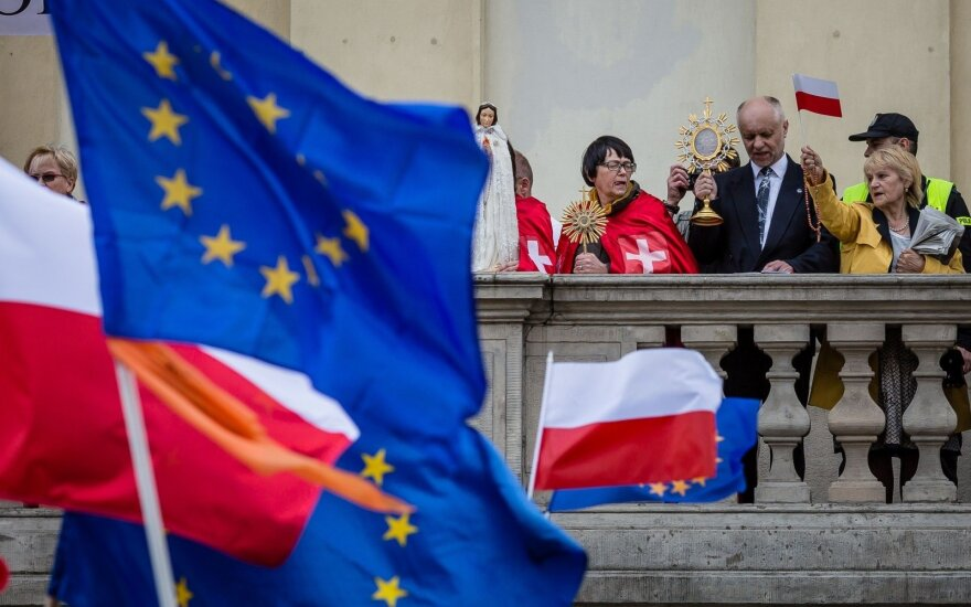 'Developments in Poland unbecoming to democracy' - head of Lithuania's constitutional court