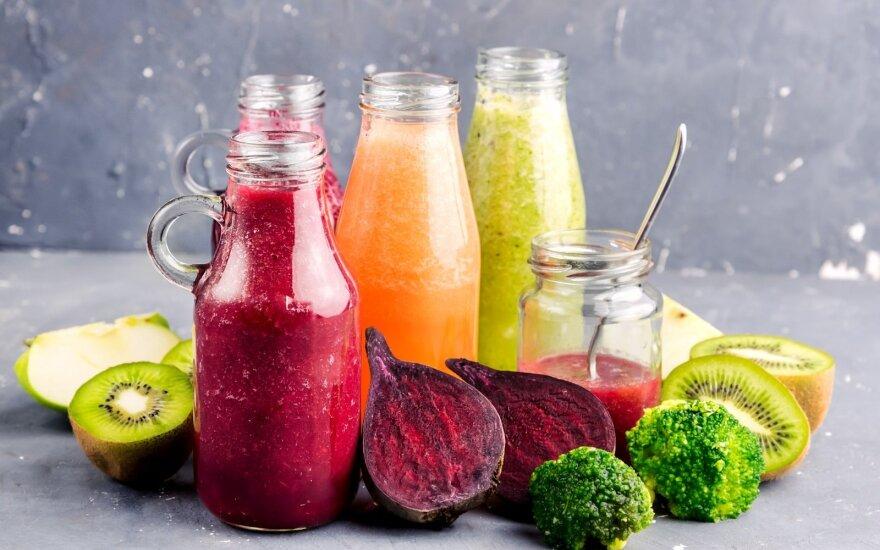Detoksikuojantys kokteiliai: kaip gaminant nesugadinti