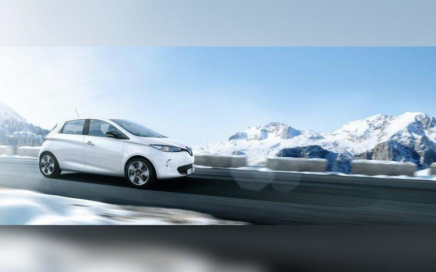 """""""Renault"""" paskelbė """"Zoe"""" elektromobilio kainą"""