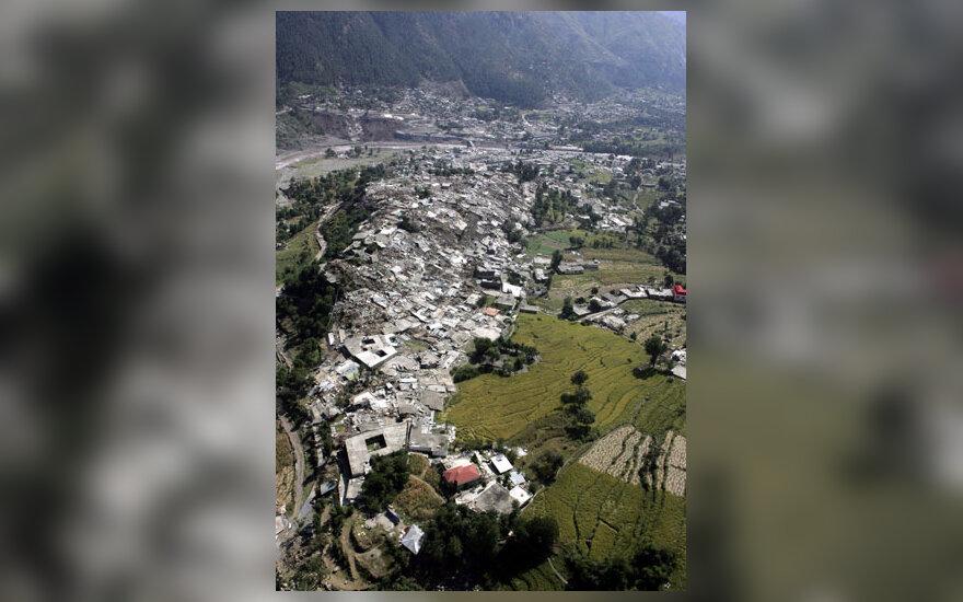 Balakoto miestas Pakistane