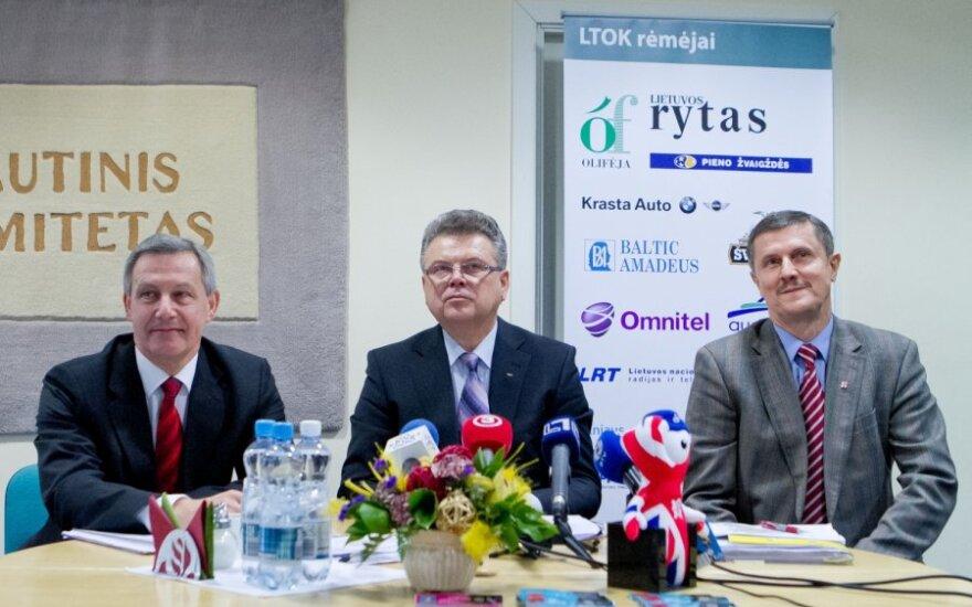 LTOK prezidentas: R.Berankiui ir D.Gudzinevičiūtei į olimpiadą gali tekti prašyti vardinių kvietimų