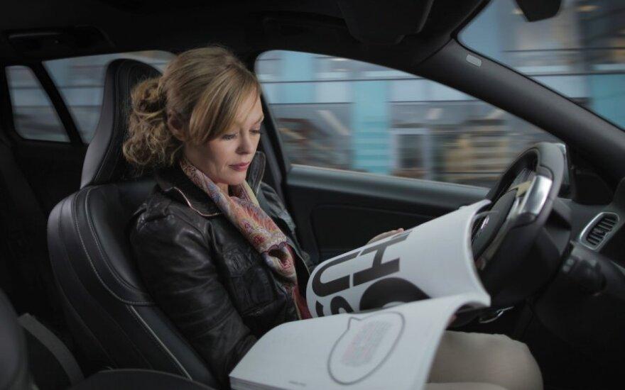 Volvo pradeda projektą Drive me