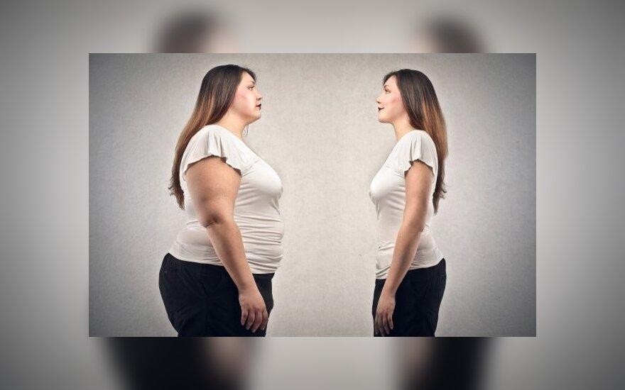 5 mitai, kurie neleidžia jums numesti svorio