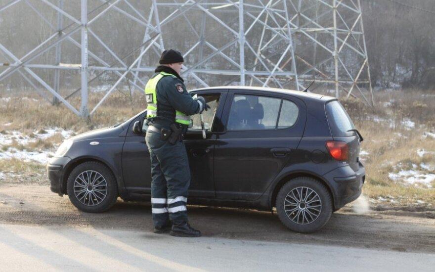 Policijos reidas prie Gariūnų