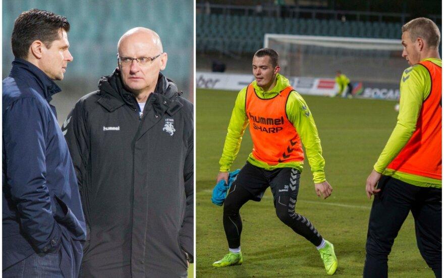 Lietuvos futbolo rinktinė / FOTO: LFF