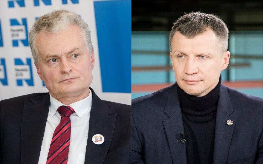 Gitanas Nausėda, Tomas Pačėsas