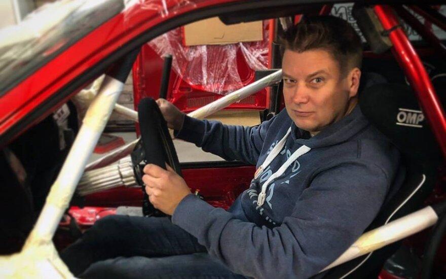 """""""Samsonas Rally Rokiškis"""" pasirodys Suomijos ralio legenda Toni Gardemeisteris"""