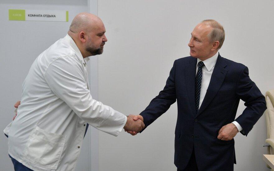 Denisas Procenka, Vladimiras Putinas