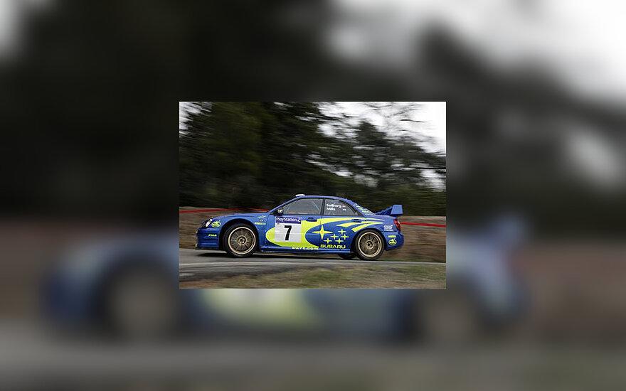 Peteris Solbergas, Subaru