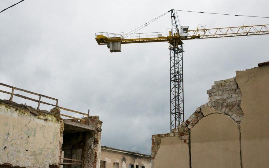 VMI skyrus daugiau dėmesio statybų įmonėms, oficialūs atlyginimai jose išaugo 15 proc.