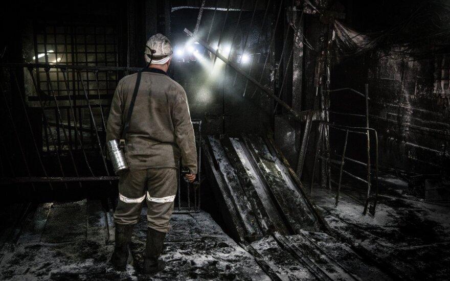 """Per nelaimę Rusijos kompanijos """"Nornikel"""" kasykloje žuvo trys žmonės"""