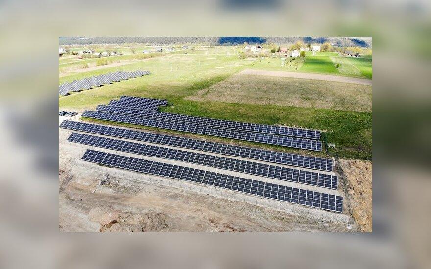 """AKVATERA LT, UAB saulės elektrinė, """"Eternia Solar"""" nuotr."""