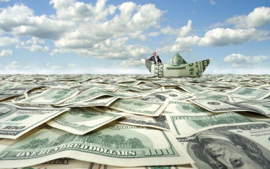 FED mažina ekonomikos skatinimo apimtis, akcijos pasaulyje brangsta