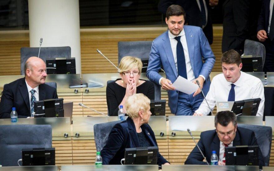 Seime – 2017 metų biudžeto projekto pirmasis svarstymas