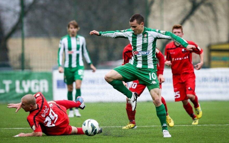 Patvirtintas 2014 metų Lietuvos A futbolo lygos sezono tvarkaraštis