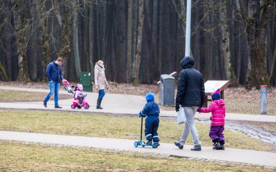 Tėvelių elgesys Vingio parke sugadino dieną: man tai nenormalu