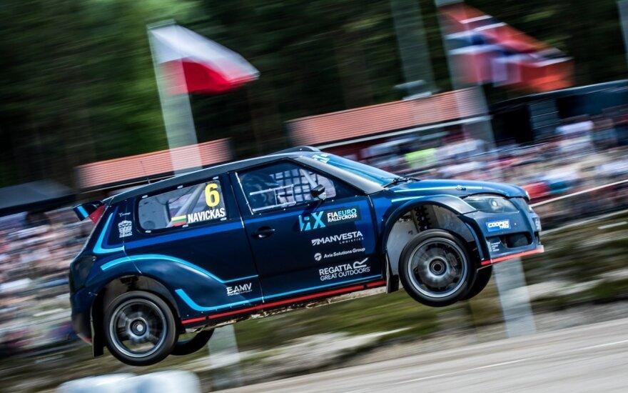 Ralio kroso savaitgalį Švedijoje K. Navickas – tarp 10-ies greičiausių