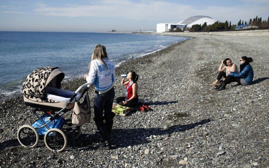 Po Olimpiados Sočyje skambina pavojaus varpais: situacija vystysis pagal tragišką scenarijų